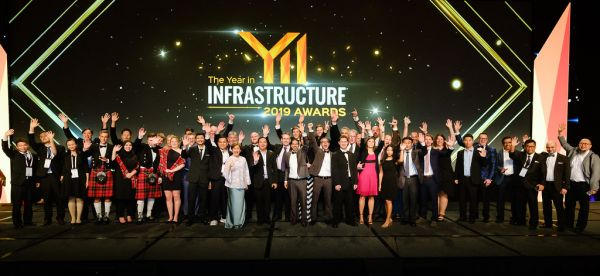 Winners of the Year in Infrastructure 2019 Awards.