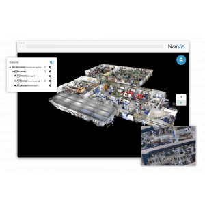 NavVis IndoorViewer: Select and Download Sections of Large Point Clouds