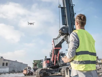 Help from Above: Drone Support on Construction Sites