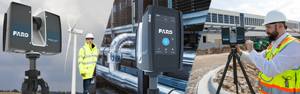 Laser scanning is used for a wide range of applications. (Image courtesy: FARO)